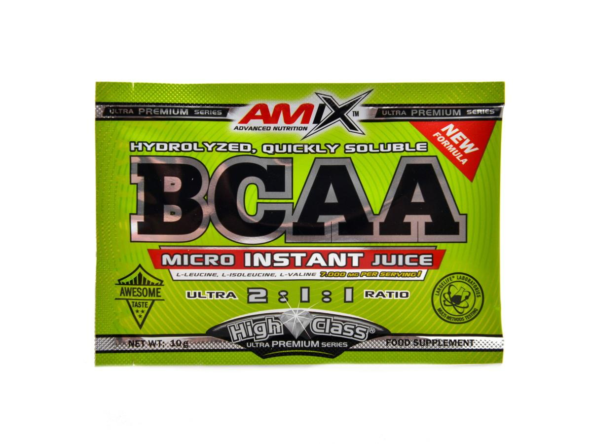 Amix BCAA micro instant juice 10 g - fruit punch