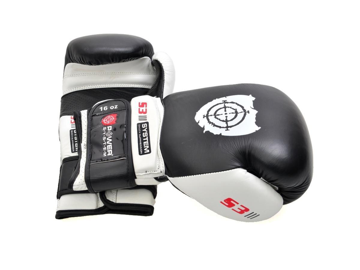 Power System Boxerské rukavice PS-5002 12 OZ - bílé