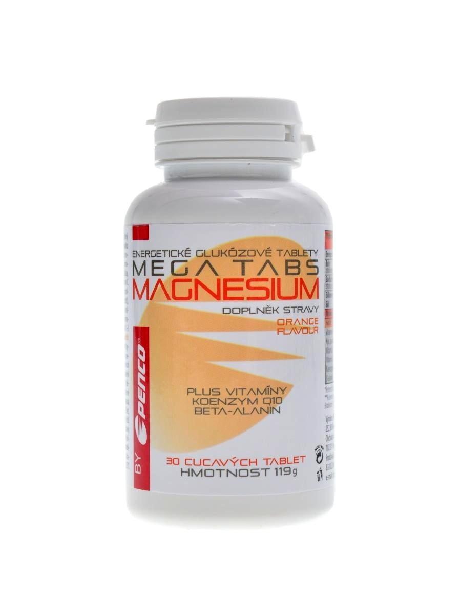 Penco Mega tabs magnesium 30 tbl pomeranč